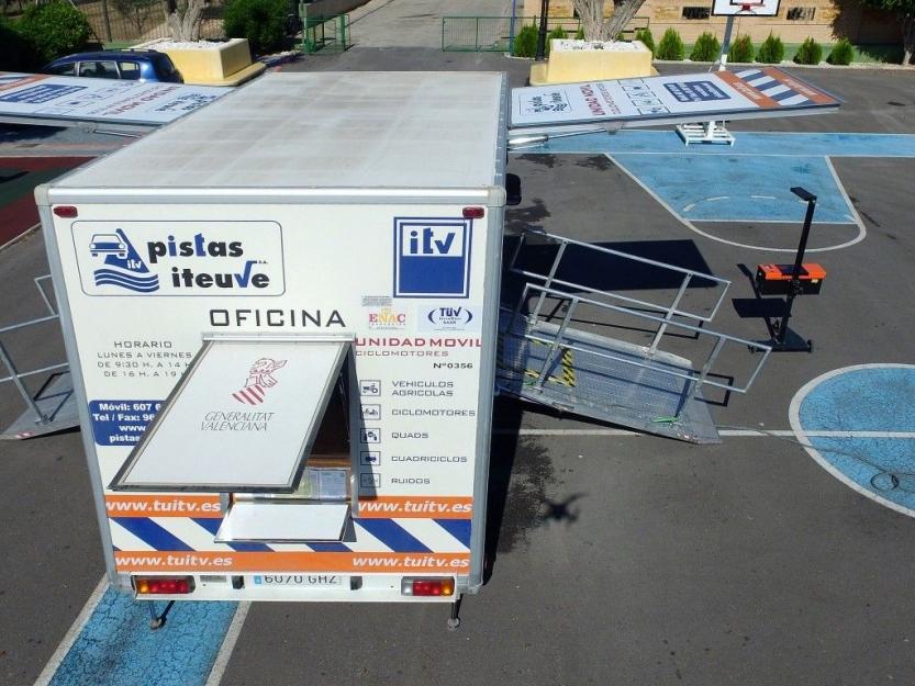 itv pistas iteuve Movil Agricola-Ciclomotores